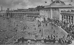 Blackpool's classical pool, 1923