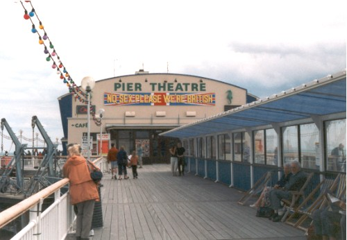 Bournemouth Pier Theatre opend 1960