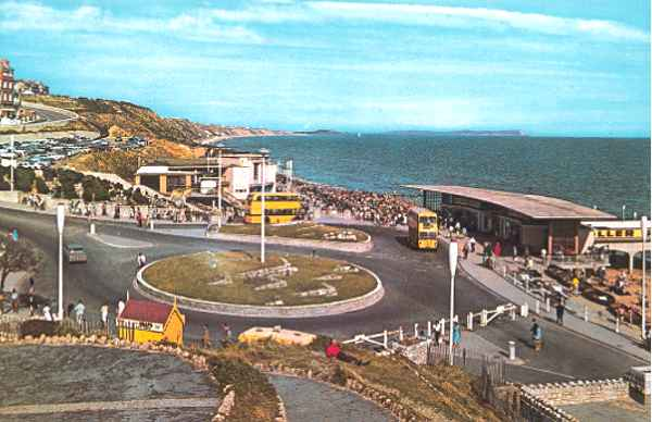 The pier approach, Boscombe, early 1960s