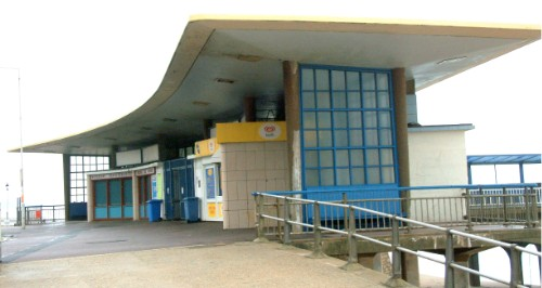 Boscombe Pier Entrance, opened 1962