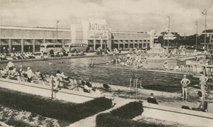 The bathing pool, Butlins Claction c1938