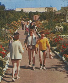 Holidaymakers at Butlin's Skegness