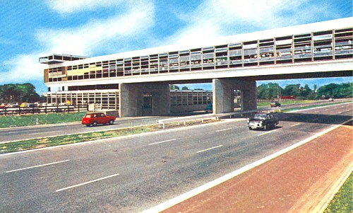 Charnock Richard Services, M6 c1962