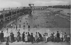 Hastings & St Leonards Swimming Pool, built 1933