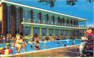The pool at Pontins, Paighton - 1960s
