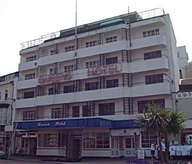 The Queen's Hotel, Torquay, opened in 1937