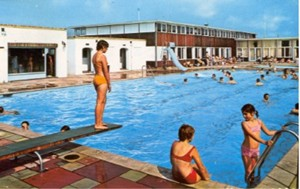 The Bathing Pool, White Horse Caravan Camp, Selsey