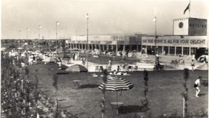 Butlin's first camp at Skegness, opened 1936