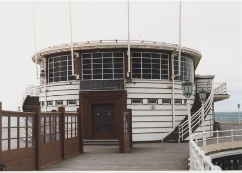 Worthing Pier, seaward Pavilion, built 1936