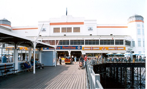 Weston-super-Mare Grand Pier, seaward pavilion, built 1933